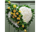 SOLID HEART YELLOW ROSES in Woodbridge NJ, Floral Expressions