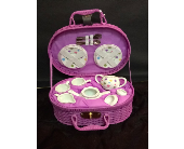 Purple Polka Dot Tea Set in Conway AR, Conways Classic Touch