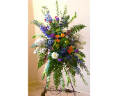 Love and Blessings Spray in Guilford CT, Guilford White House Florist