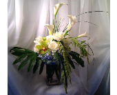 Modern Harmony Vase in Guilford CT, Guilford White House Florist