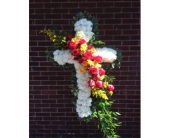 Red & Yellow Rose Cross in Smyrna GA, Floral Creations Florist