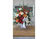 Warm Shades tribute in Mississauga ON, Flowers By Uniquely Yours