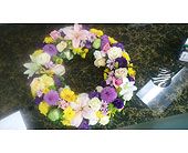 Glorious wreath in Mississauga ON, Flowers By Uniquely Yours