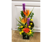 Vivid Paradise Bouquet in Fargo ND, Dalbol Flowers & Gifts, Inc.