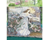 Angel Tapestry Throw in Piqua OH, Genell's Flowers