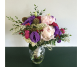 Shades of Love Bridal Bouquet in Piqua, Ohio, Genell's Flowers
