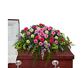 Forever Cherished Casket Spray in Sapulpa, Oklahoma, Neal & Jean's Flowers, Inc.