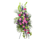 Forever Cherished Easel Spray in Bradenton FL, Florist of Lakewood Ranch