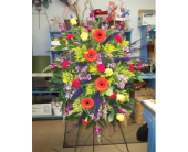 EASEL SPRAY- DESIGNERS CHOICE in Waco TX, Reed's Flowers
