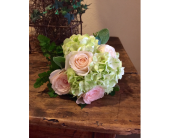 Roses and Hydrangea Wedding Bouquet in Austin, Texas, Ali Bleu Flowers