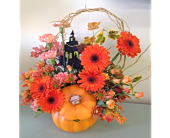 Halloween Celebration Bouquet in Smyrna GA, Floral Creations Florist