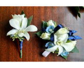 Boutonniere and corsage set in Redmond WA, Bear Creek Florist