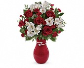 Teleflora's Pair Of Hearts Bouquet in Greenwood IN, The Flower Market
