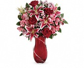 Teleflora's Wrapped With Passion Bouquet in Newbury Park CA, Angela's Florist