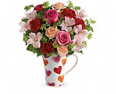 Teleflora's Hearts And Hugs Bouquet in Oakland CA, Lee's Discount Florist