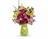 Teleflora's Hello Spring Bouquet in Seattle WA, The Flower Lady