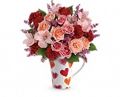 Teleflora's Lovely Hearts Bouquet in New Britain CT, Weber's Nursery & Florist, Inc.