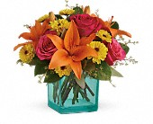 Teleflora's Fiesta Bouquet in Kent WA, Blossom Boutique Florist & Candy Shop