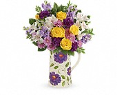 Teleflora's Garden Blossom Bouquet in Whittier CA, Whittier Blossom Shop