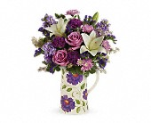 Teleflora's Garden Pitcher Bouquet in Orlando FL, Elite Floral & Gift Shoppe