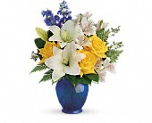 Teleflora's Oceanside Garden Bouquet in Fredericton NB, Flowers for Canada