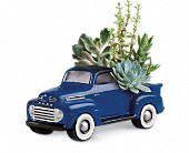 His Favorite Ford F1 Pickup by Teleflora in San Clemente CA, Beach City Florist