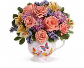 Teleflora's Butterfly Sunrise Bouquet in Tulalip WA, Salal Marketplace
