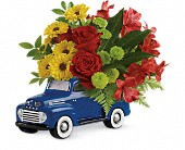 Glory Days Ford Pickup by Teleflora in Edmonton AB, Petals For Less Ltd.