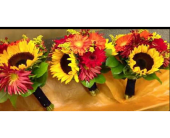 Autumn Bridesmaid Bouquets in Belford, New Jersey, Flower Power Florist & Gifts