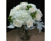 Mason Jar Centerpiece in Belford, New Jersey, Flower Power Florist & Gifts