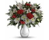 Silver And Snowflake Bouquet  in Smyrna GA, Floral Creations Florist