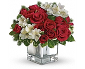 Christmas Blush Bouquet  in Smyrna GA, Floral Creations Florist