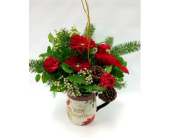 Christmas Cardinal Jug in Belleville ON, Live, Love and Laugh Flowers, Antiques and Gifts