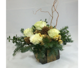 Tis the Season Fragrant Cube in Manhasset NY, Town & Country Flowers