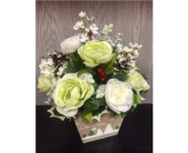 Winter Wonderland Bouquet in Xenia OH, The Flower Stop