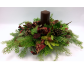 Christmas Centrepiece in Belleville ON, Live, Love and Laugh Flowers, Antiques and Gifts