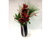 Amaryllis Vase in Belleville ON, Live, Love and Laugh Flowers, Antiques and Gifts