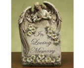 In Loving Memory Plaque in Fort Worth TX, Greenwood Florist & Gifts
