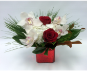 Elegant Christmas Cube in Belleville ON, Live, Love and Laugh Flowers, Antiques and Gifts
