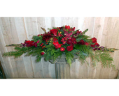 Christmas Table in Dallas TX, Petals & Stems Florist