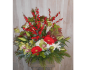 This Christmas in Dallas TX, Petals & Stems Florist