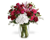 Burgundy Blush in Big Rapids MI, Patterson's Flowers, Inc.