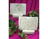 Memory Stone - Small (Assorted Designs) in Tipp City, Ohio, Tipp Florist Shop