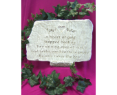 Memory Stone - Large (Assorted Designs) in Tipp City, Ohio, Tipp Florist Shop
