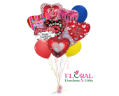Valentine's Balloon Bouquet in Palm Beach Gardens FL, Floral Gardens & Gifts