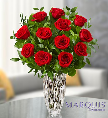 Marquis by Waterford� Premium Red Roses in Jupiter FL, Anna Flowers