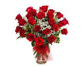 24 Long Stemmed Roses in New Glasgow NS, McKean's Flowers Ltd.