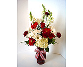 Hearts On Fire (Premium in Muskegon MI, Wasserman's Flower Shop
