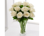 Dozen White Roses in Metropolis IL, Creations The Florist