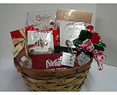 Chocolate Lovers Basket in Gastonia NC, Fine And Fancy Flowers
